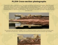 DXZone PL259 Cross-section photographs