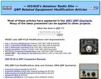 W1HUE Amateur Radio Articles