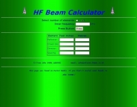 DXZone HF Beam Calculator