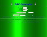 ERP Estimator