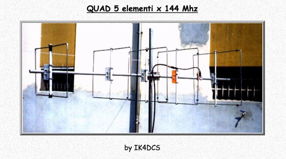 Quad Antenna for 144 Mhz