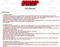 CWSP Award