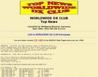 DXZone WDX Club Weekly Top News