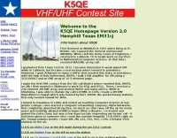 K5QE VHF and Up Contest Site