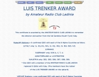 IW3 - Luis Trenked Award