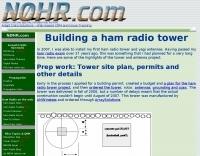 Ham Radio Tower at NØHR