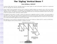 DXZone The ZigZag Vertical Beam