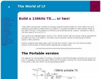 Build a 136 kHx TX