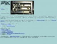 144 Mhz power amplifier 4CX250B