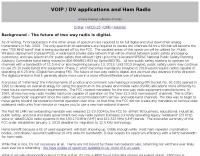 DXZone VOIP applications and Ham Radio