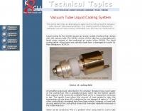 Vacuum tube liquid cooling system
