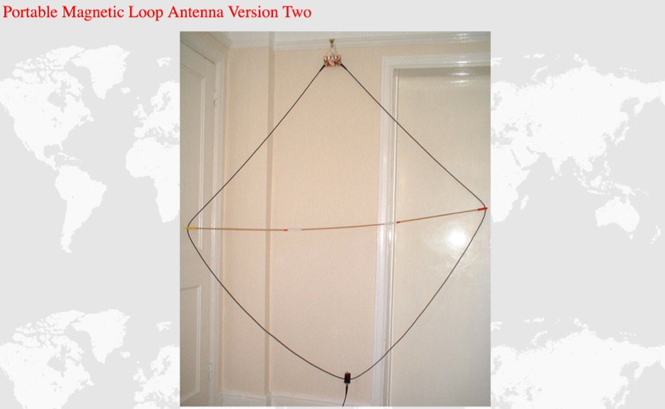 Portable Magnetic Loop Antenna Version 2