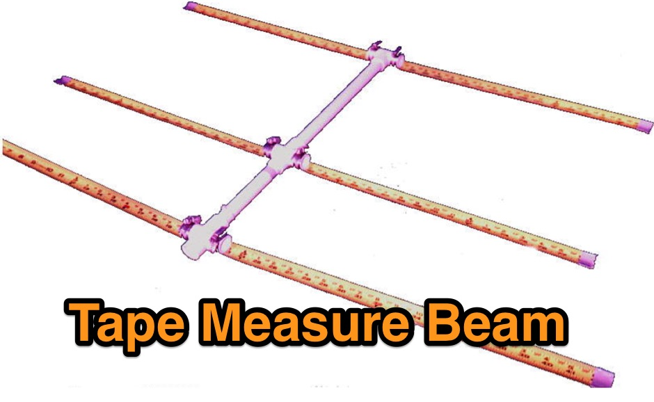 7db tape measure yagi beam for RDF