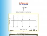 6 element yagi for 144 mhz