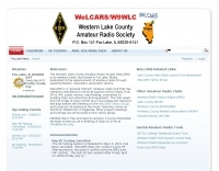 WeLCARS - Western Lake County Amateur Radio Society
