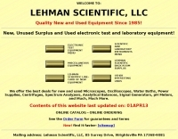 Lehman scientific