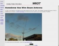 Homebrew Hex Wire Beam Antenna