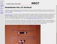Homebrew Pac-15 Vertical