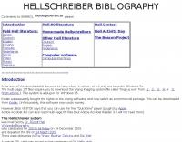 DXZone Hellschreiber Bibliography