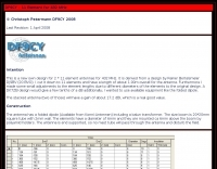 DXZone DF9CY 11 Element for 432 MHz