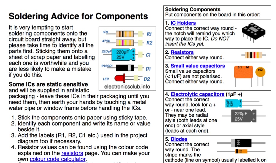 DXZone Soldering Guide