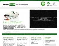 DXZone Cleverscope - The PC USB mixed signal oscilloscope