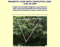 DXZone Magnetic loop for 30-10 M