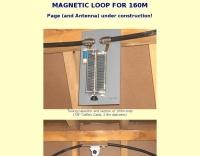 Magnetic loop for 160 meters