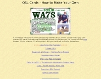 QSL Cards - How to Make Your Own