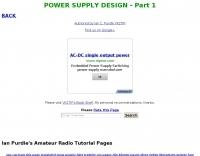 DXZone Power Supply Design