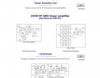 100W HF QRO linear amplifier