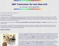 DXZone QRP Transceiver for less than $10