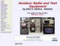 EB5AGV Vintage Radio and Test Equipment