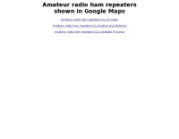 Amateur Radio Repeaters Maps