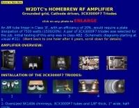 W2DTC Homebew RF Amplifier
