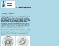 Feeder Radiation