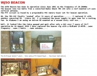 WJ5O Beacon