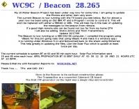 DXZone WC9C  Beacon