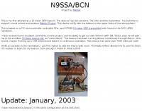 N9SSA/BCN 10 Meter Beacon