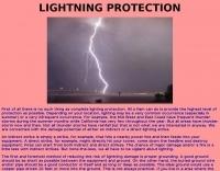 Lightning protection for Amateur Ham Radio