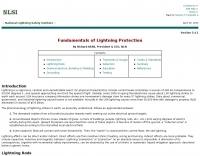 Fundamentals of Lightning Protection