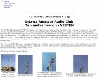 DXZone VE3TEN Ten meter beacon