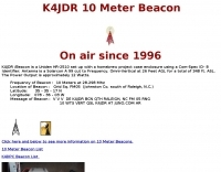 DXZone K4JDR 10 Meter Beacon
