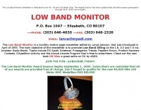 Low  Band Monitor