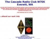 W7EK The Cascade Radio Club