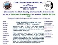 W7AIA, Clark County Amateur Radio Club