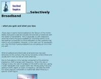 About broadband