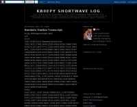 KB0EPY Shortwave Log