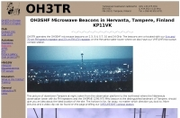 DXZone OH3SHF Microwave Beacons