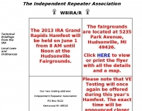 W8HVG/R Independent Repeater Association